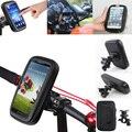 "4.7"" Universal Bicycle Motocycle Bike Phone Holder Waterproof Bag Case Handlebar Mount for iphone 5 5s 5c SE/ xiaomi redmi 2 2A"