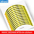 MAVIC DEEMAX MTB обода колеса наклейки горный велосипед колеса Набор отличительные знаки неотражающие для двух колес sticke