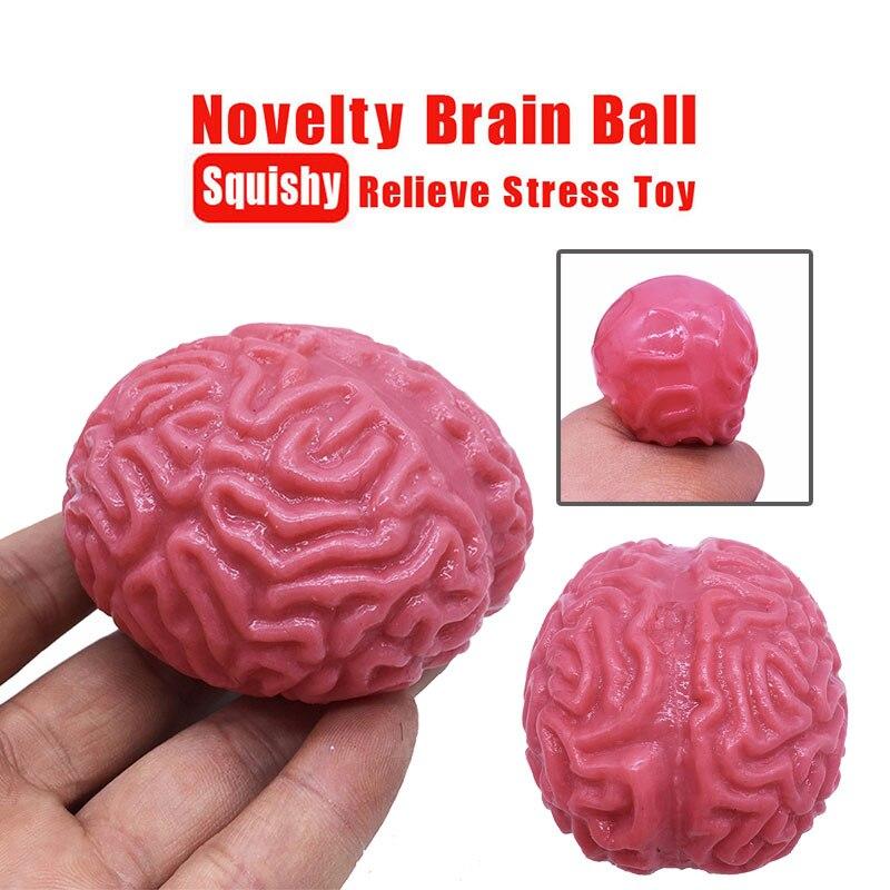 Игрушка в виде небольшой мягкими красные вечерние Мозга Игрушка для розыгрыша стресс игрушки выжать игрушка в подарок пупсик сюрприз