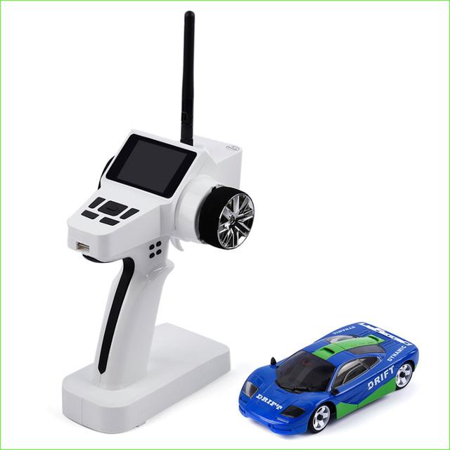 1 pcs Mini 2.4 GHz Digital proporcional tração nas quatro rodas 4WD Enlectronic carro
