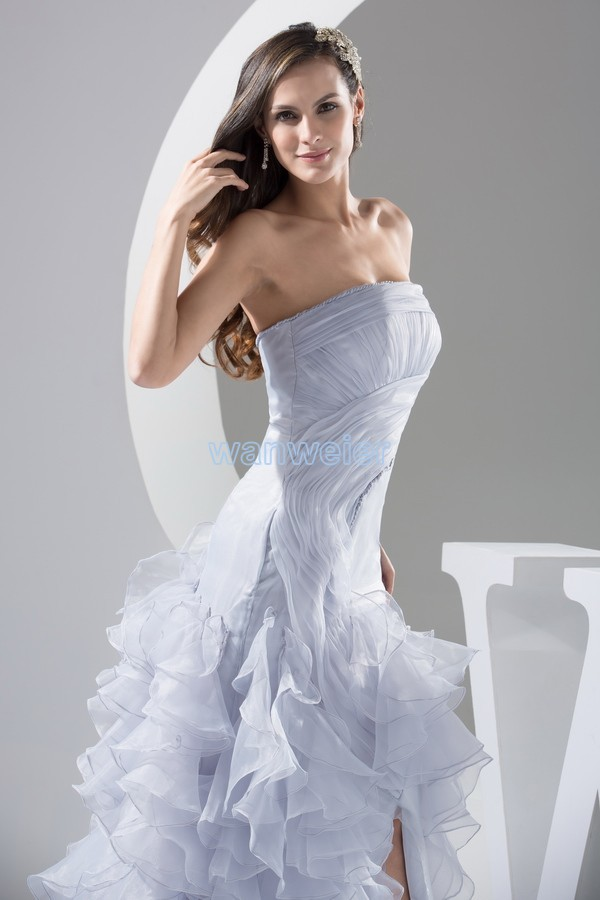 free shipping 2018 new design hot short front long back night custom size  bridal gown plus trumpet mermaid prom bridesmaid dress-in Bridesmaid Dresses  from ... 40199d4ea79d