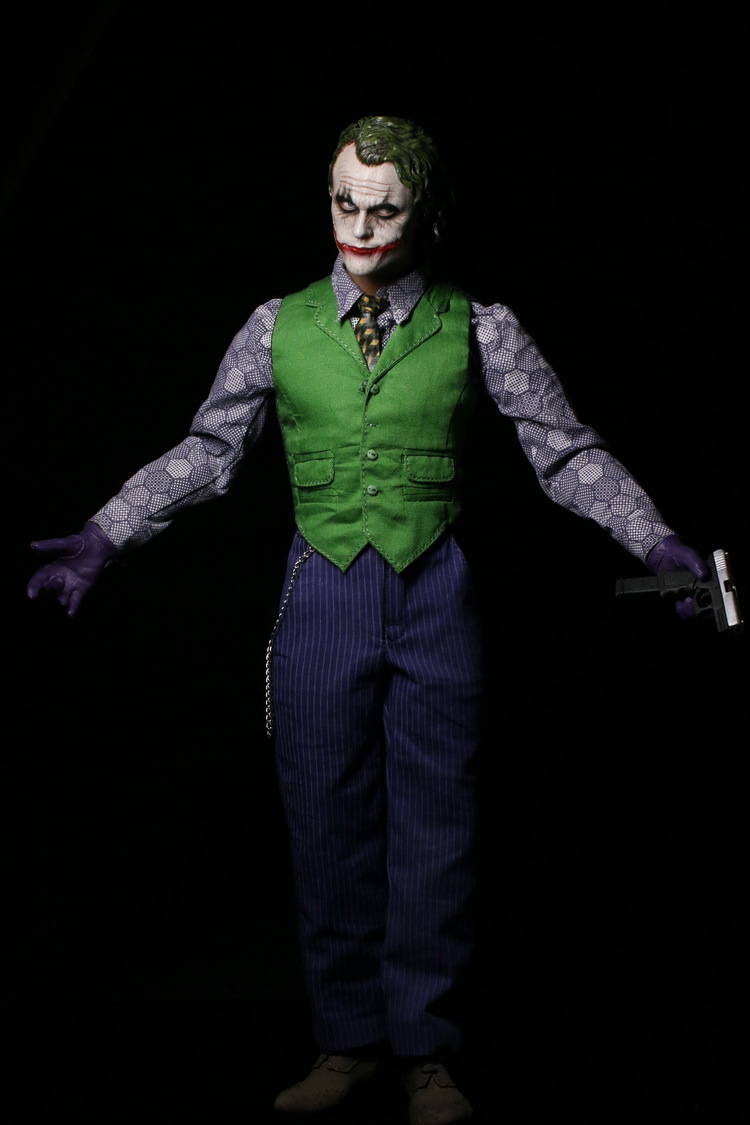 """ФОТО 1/6 scale doll model.12"""" action figure doll.batman joker clown modeling.model toys and gifts.no packaging box"""