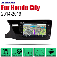 Android Car Radio Stereo GPS Navigation For Honda City 2014~2019 Bluetooth wifi 2din Multimedia Player Audio