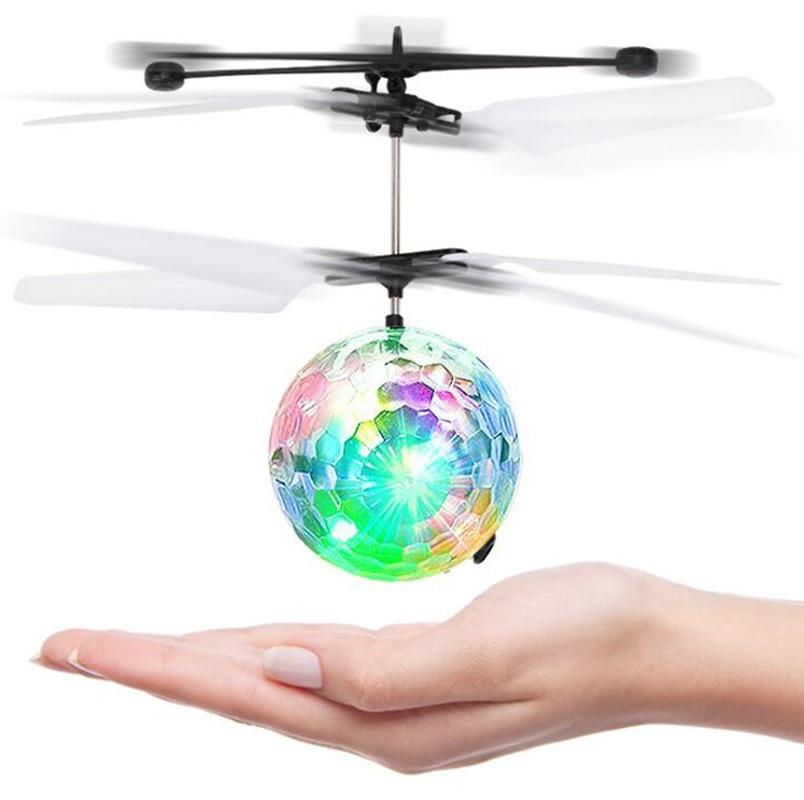 RC Bola de vuelo drone helicóptero bola colorida Bola de vuelo del ...