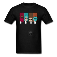 Funny T Shirts Rickservoir Dogs Rick And Morty Cool Man 100 Cotton Creative Short Sleeve Tees