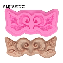 Silicone Mold Craft Cake-Decorating-Tool Chocolate-Clay Resin-Moulds Fondant M0918 Leaves