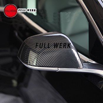1 paar ABS Auto Exterieur Side Achteruitkijkspiegel Cover Case Protector voor Tesla Model 3 Auto Styling Accessoires