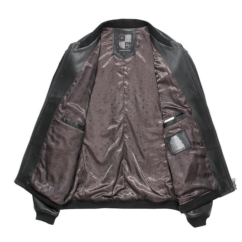 Gours Güz ve Kış erkek Hakiki Deri Ceketler Erkek Giyim Koyun Deri - Erkek Giyim - Fotoğraf 3