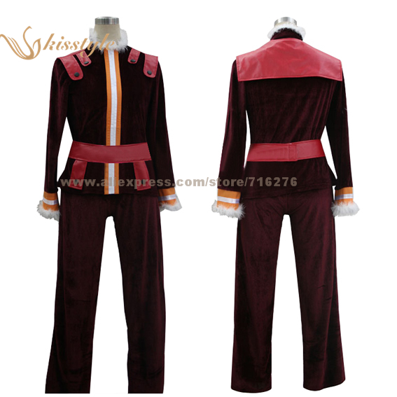Kisstyle Fashion Gurren Lagann <font><b>Viral</b></font> Uniform COS Clothing Cosplay Costume,Customized Accepted image