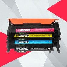4PK тонер-картридж для samsung CLP320 CLP 320 321 325 CLX3180 CLX3185 CLX 3185 3180 CLT407S CLT-407S CLT 407S CLT-K407S 407
