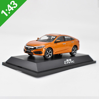 1:43 HONDA CIVIC Alloy Model Car Static high simulation Metal Model Vehicles With Original Box