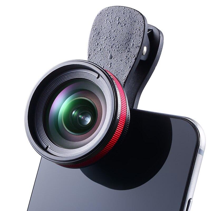 imágenes para Ulanzi LIEQI Pro Teléfono 0.6X Lente Ancha Del Ángel y 15x Lente Macro Kit para el iphone 7 plus 6 s HUAWEI P9 Plus Samsung Smartphone Móvil