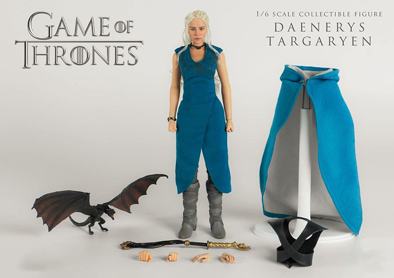 Collectible Full Set Action Figure 3A ThreeZero 3Z0018 Game of Thrones Daenerys Targaryen Regular Ver. 1/6 Figure Model Toys