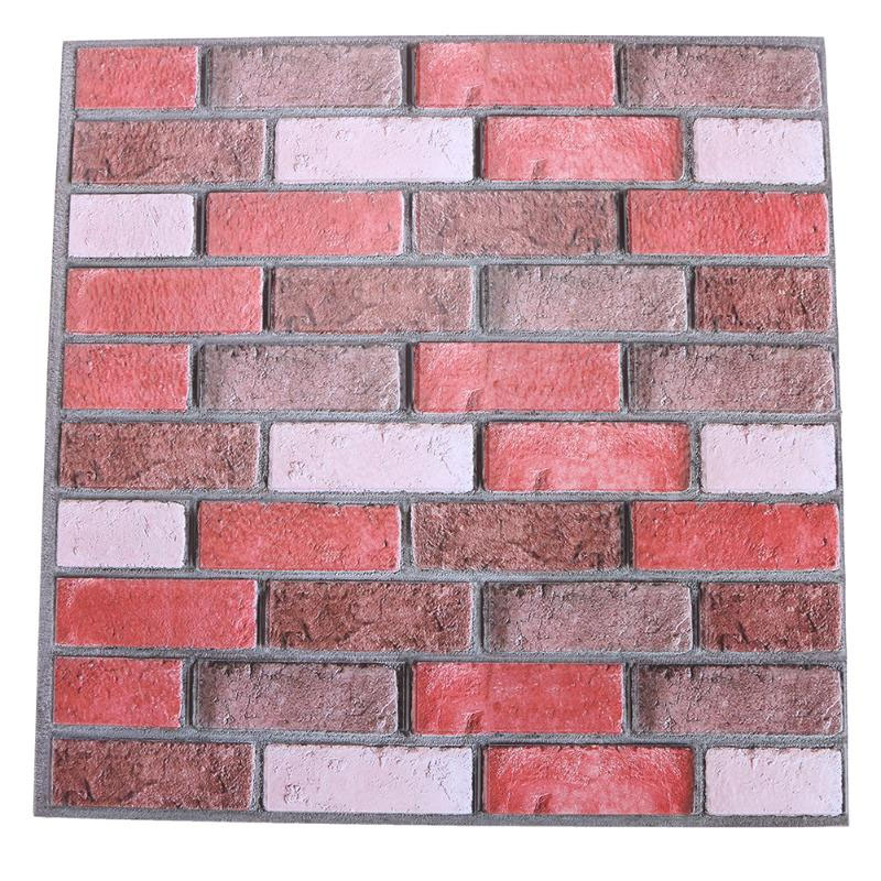 Modern Stone Self adhesive PVC Wallpaper Brick Wall Paper Roll For ...
