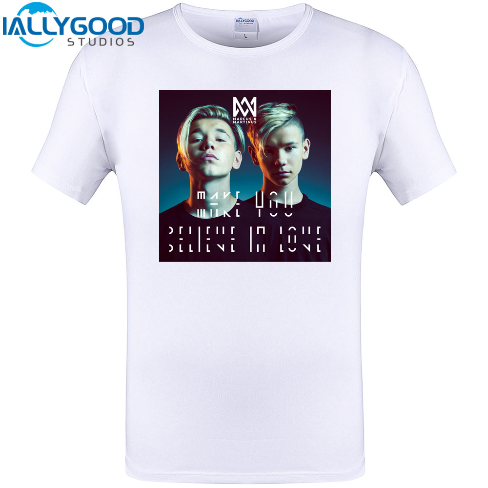2018 Summer T Shirt Men Casual Marcus And Martinus T Shirt Funny
