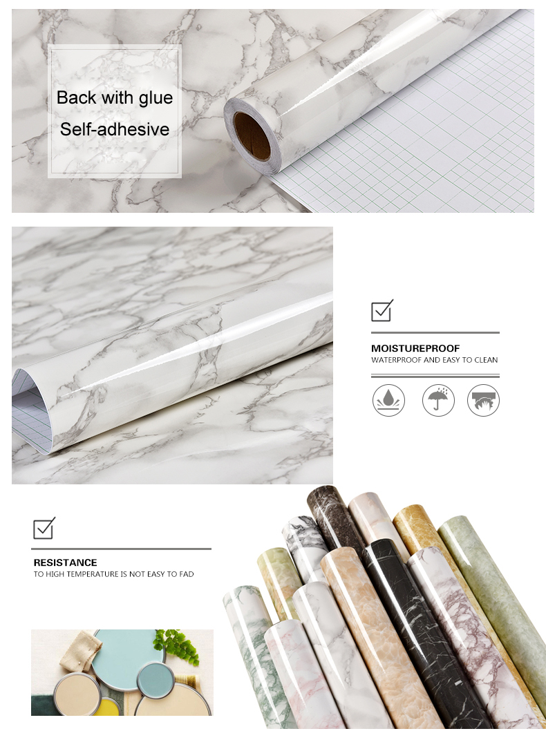High Quality self adhesive wallpaper
