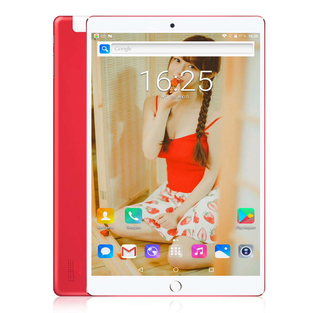 BDF 10 Inch Android 7.0 1920*1200 Octa Core 4GB/64GB Bluetooth WIFI 3G Network SIM Phablet IPS LCD Tablet
