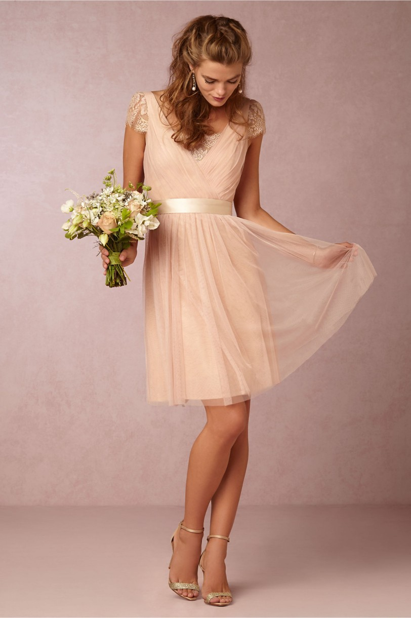 Champagne Bridesmaid Dresses Under 100