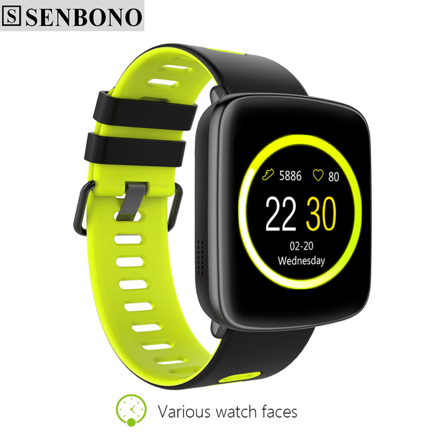 SENBONO SBN-GV68 Bluetooth Smart Watch Pedometer