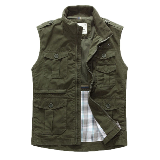 Hot Sale! 2016 Men's  leisure vest/ Men's Sleeveless Jacket/  multi-pocket Vest photography vest  168