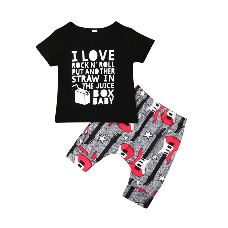 Kids Boys Casual Pullover Short Sleeves O-neck Star Milk Print T-shirt LIN