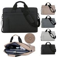 Laptop Bag Handbag 13 13.3 14 15 15.6 17 17.3 Inch Large Capacity Notebook Messenger Bag Case for Macbook Dell Lenveo Acer ASUS
