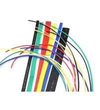 7 Color 1mm/1.5mm/2mm/2.5mm/3mm/3.5mm/4mm Electronic Heat Shrink Tubing 2:1 Shrinkable Tube 5M