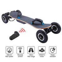 1650W Dual Motor 45KM/H High Performance Boosted One Piece Electric Skateboard Board Remote Sport Electric Skateboard