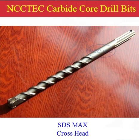[SDS-PLUS+Cross head] 22*400mm 0.88'' carbide wall core drill bits NCP22SP400C for Precise process hole drill FREE shipping gardenboy plus 400 в санкт петербурге