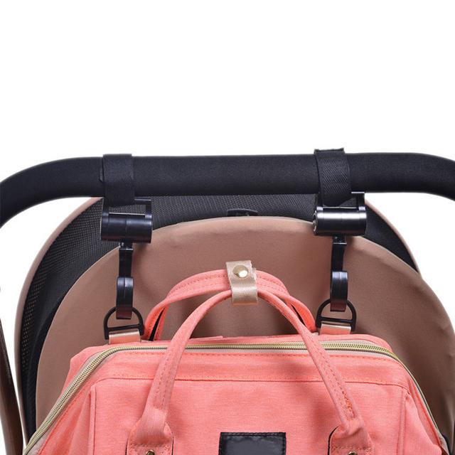 2pcs Baby Stroller Accessories 360 Cart Stroller Hook