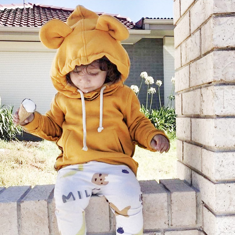 HTB1wQ5RXdQLL1JjSZPhq6x3gVXa8 - 1-5Yrs Children Hooded Sweatshirt Boys Cute Bear Ears Animal Hoodies Unisex Kids Clothing Girls Tops Coats Baby Casual Outwear