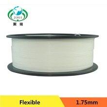 Color Natural flexible fuerte TPE Elástico 3D 1.75 de impresión filamento industrial/impresora de escritorio envío gratis