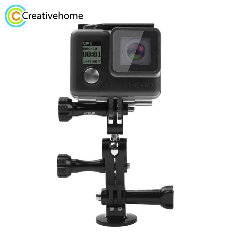 За Gopro Аксесоари Алуминиева Шарнирна Шарнирна Щанга За Gropro Hero 4/3 + / 3/2/1 SJCAM SJ4000 Xiaomi Yi Action Camera