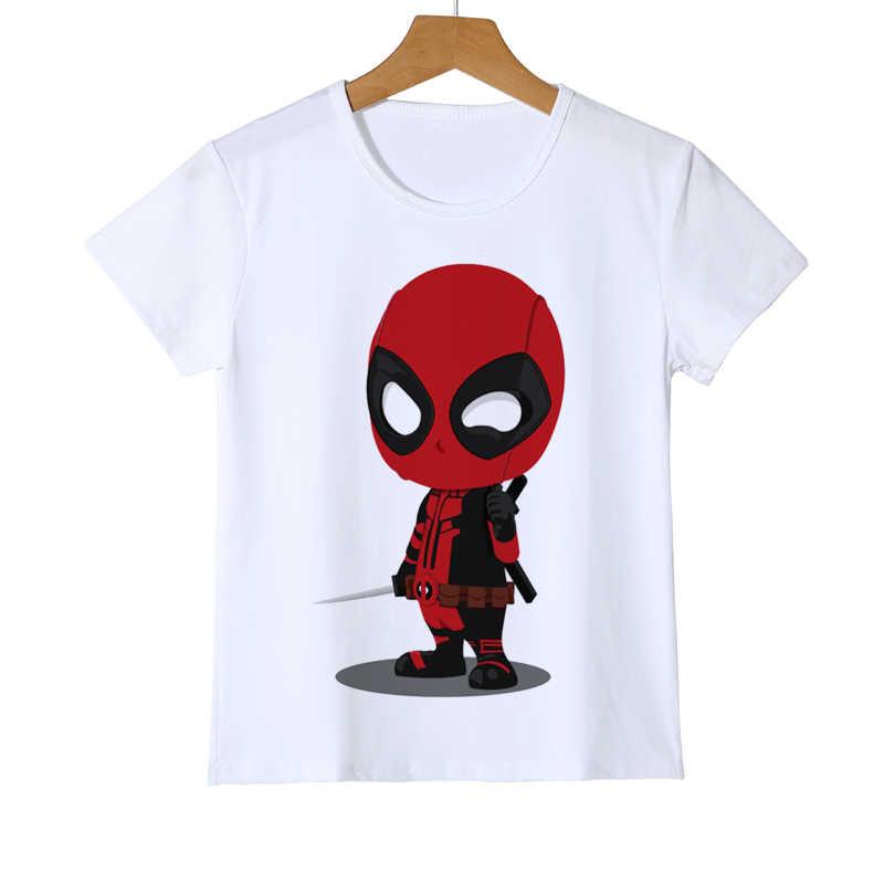 aae908a1 ... Newest Deadpool Pikachu Kid T shirt 3D Cartoon Fashion Pokemon Design  tops Printed Boy Girl Baby ...