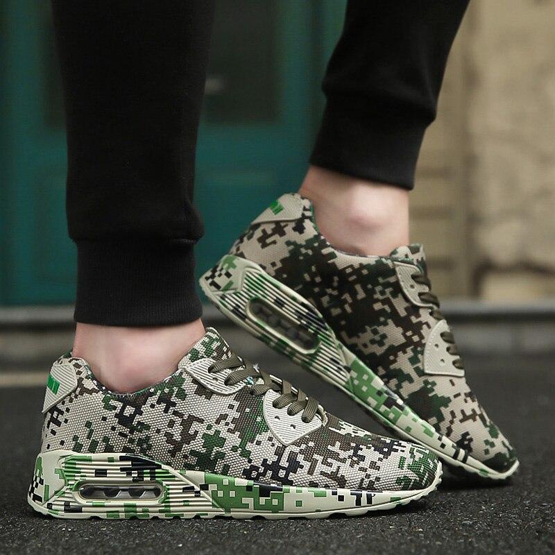 46 Calzado Color Para Hombres La Zapatos up blanco Verde Calidad Tamaño Lace Alta Causale Excsies De Camuflaje Militar Soft 36 2018 Altura verde Aumento zxwaqXHp6