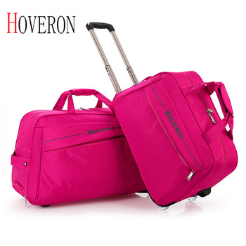 цена на 20-24 Inch Ladies Travel Trolley Case Men's Suitcase Fashion Luggage Bag Large Capacity with Wheel Travel Bag Rolling Suitcase