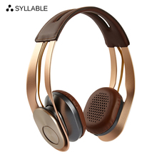 Cheapest Syllable G700 Wireless Bluetooth 4.0 Hifi Headset NFC Function Metal Shell Bass Noise Reduction Headphone without Retail Box