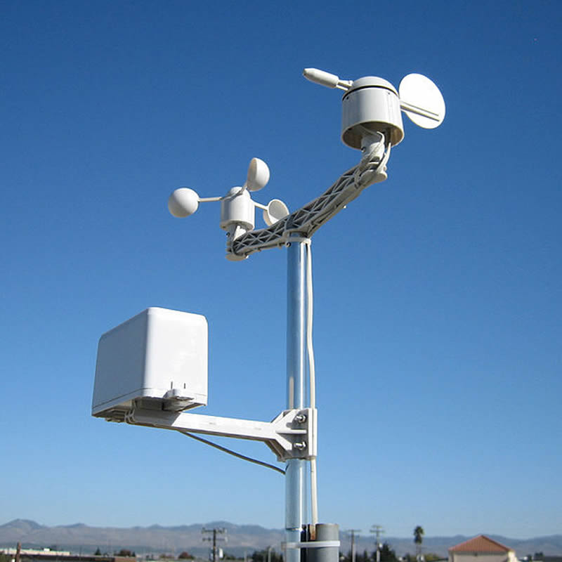 Spot new weather station wind speed sensor wind direction and rainfall Internet of things Secondary development