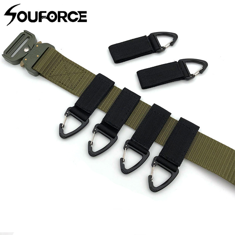 High Quality Multi-functional Outdoor Tactical Equipment Nylon Webbing Key Chain Hang Buckle Oleo Hook Belt Carabiner Backpack Up-To-Date Styling