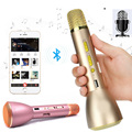 K088 Magic Karaoke Microfone K Song Portable Wireless Bluetooth Microphone With Bluetooth Speaker Power Bank Outdoor KTV DVR8708
