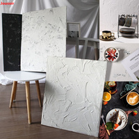 Photo props cement wall background board handmade vintage loft industrial style food photography CD50 T03