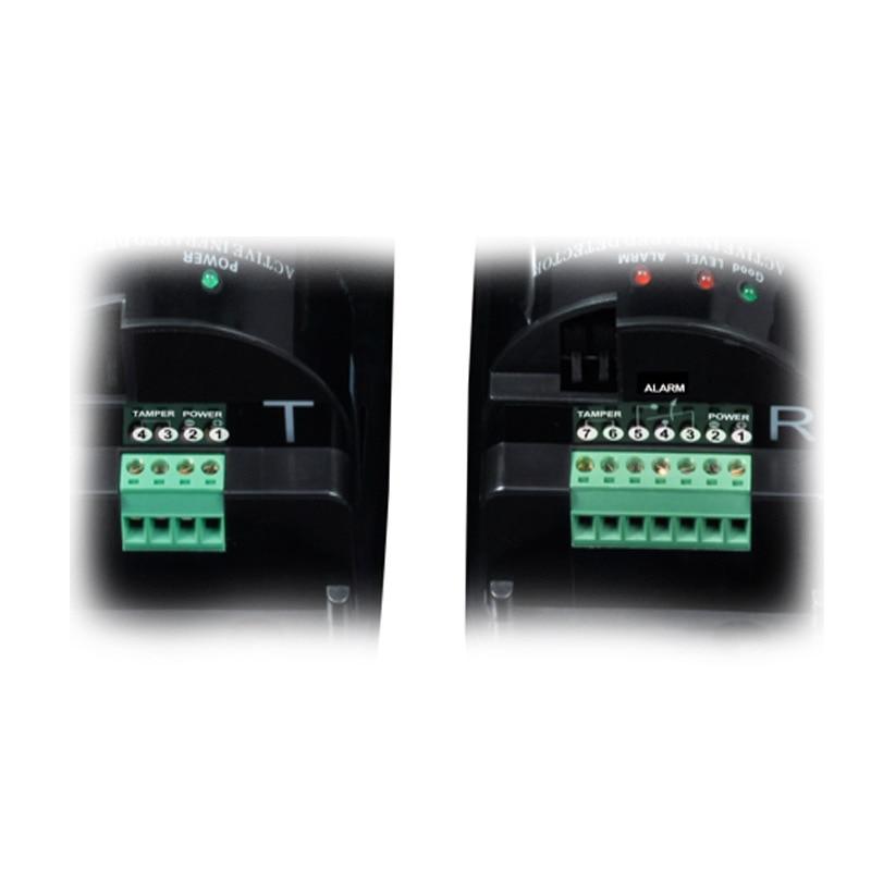 Capteur triple faisceau pour le système d'alarme antivol avec distance de détecteur de 100 m - 3