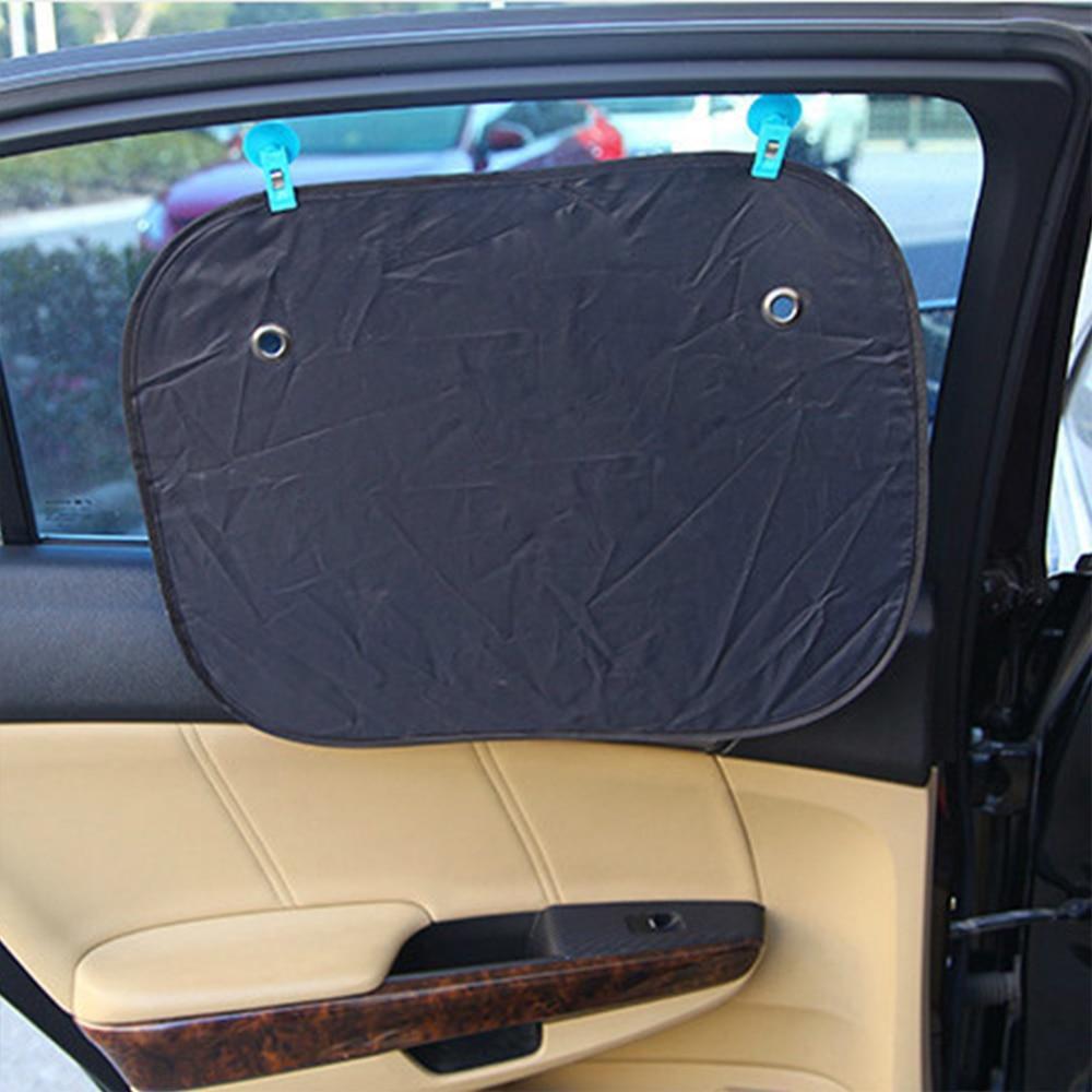 1 parni avtomobilski posnetek z nosilci sesalnih sesalcev za senčilo - Dodatki za notranjost avtomobila - Fotografija 2