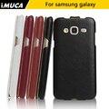 Imuca marca de lujo pu leather case para samsung galaxy j3 2016 j320 case j320 j3 5.0 pulgadas del teléfono celular del teléfono móvil case cubierta