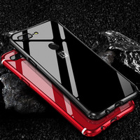 Woodlysi Luxury Case For Oneplus 5 Case 2 In 1 Slim Metal Frame Acrylic Back Cover
