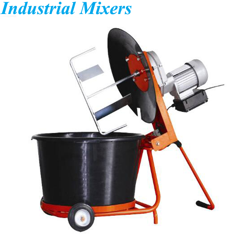 50L Vertical Cement Mortar Paint Mixer Grouting Machine Feed Material Mixer Dry And Wet Dual Use Mixing Equipment XGM-80D