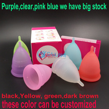 10pcs /lot menstrual cup medical silicone woman in feminine