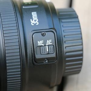 Image 4 - Yongnuo Yn 35Mm F2 Camera Lens Voor Nikon Canon Eos YN35MM Lenzen Af Mf Groothoek Lens Voor 600D 60D 5DII 5D 500D 400D 650D 6