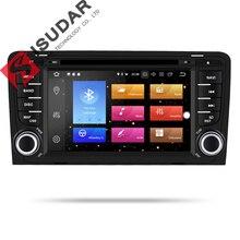 Isudar Auto Multimedia Player 2 din Auto Radio GPS Android 9 Per A3/S3/Audi 2002-2013 octa Core RAM 4G ROM 32G Macchina Fotografica DSP USB DVR