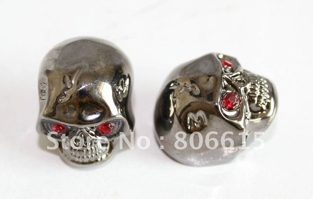 Skull Head Guitar Volume Tone Control Knob black